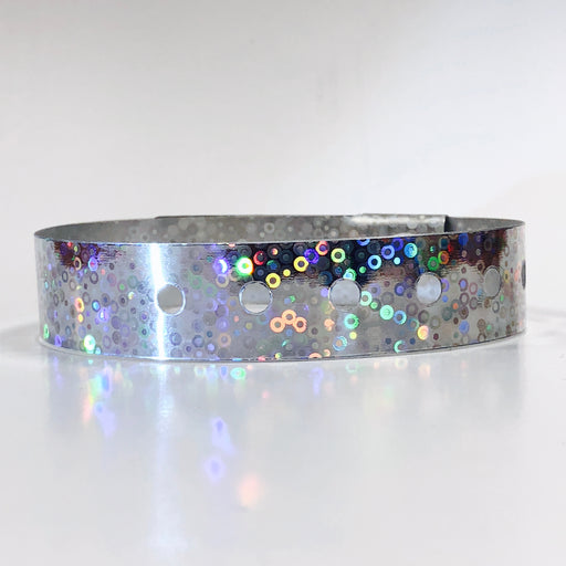 Holographic Wristbands - Backstage Supplies