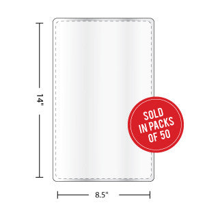 Legal Size Laminating Pouches - Backstage Supplies