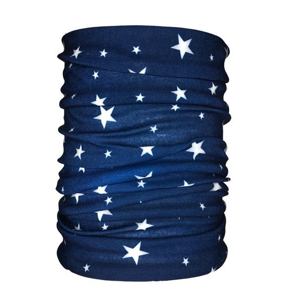 Floating Stars Neck Gaiter - Backstage Supplies