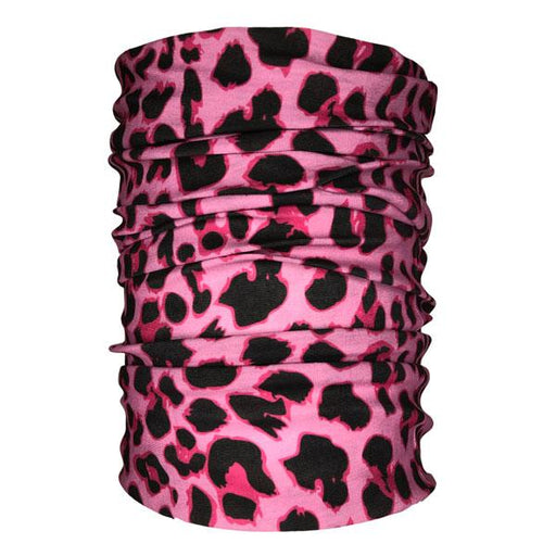 Cheetah Pink Neck Gaiter - Backstage Supplies