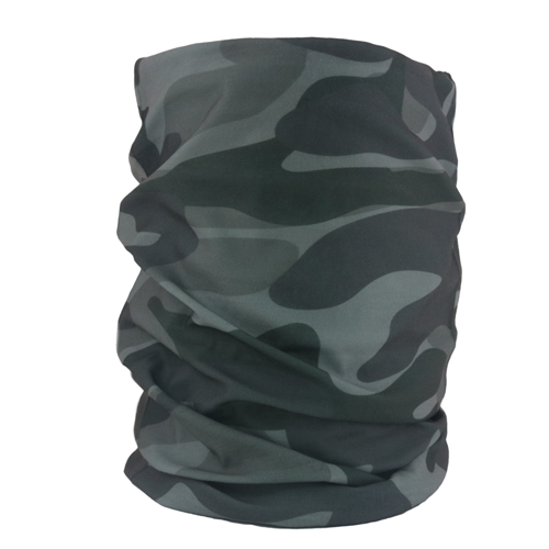 Camo Green Neck Gaiter - Backstage Supplies