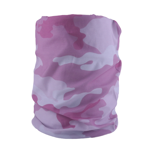 Camo Pink Neck Gaiter - Backstage Supplies