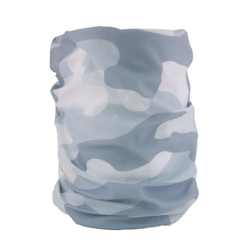 Camo Grey Neck Gaiter - Backstage Supplies