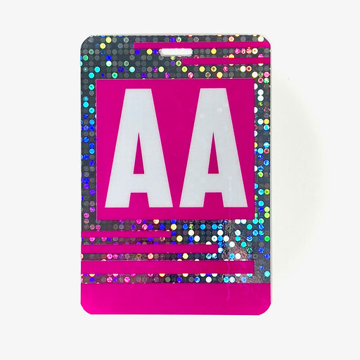 Holographic All Access Backstage Pass