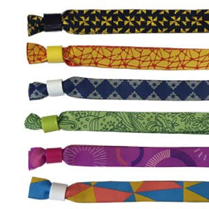 Economy Cloth Wristbands