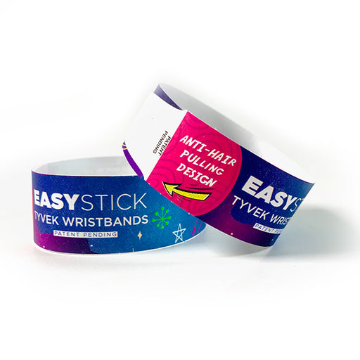 Easy Stick Tyvek Wristbands