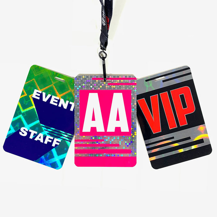 Holographic All Access ID Badge - Backstage Supplies