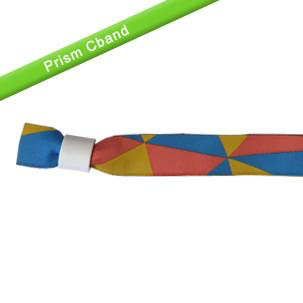 Cloth Wristbands - Prism - Backstage Supplies