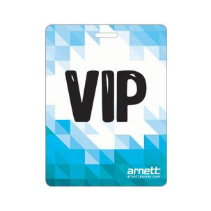 VIP laminated Tour Pass