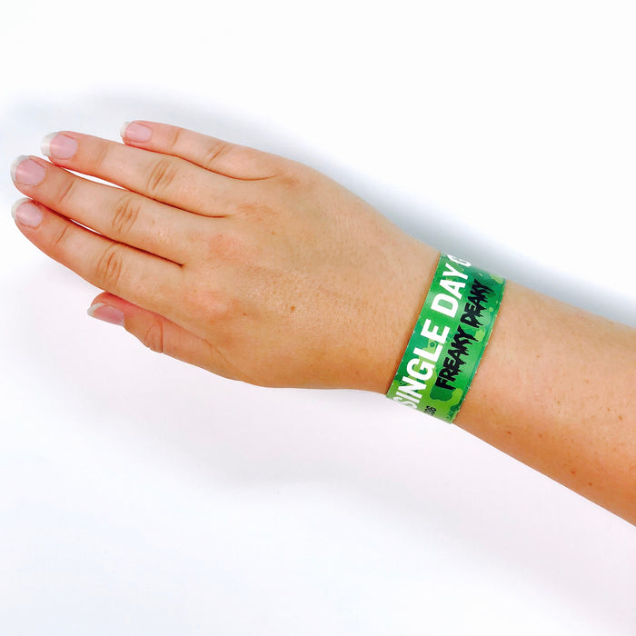 Custom Tyvek Paper Wristbands - Backstage Supplies