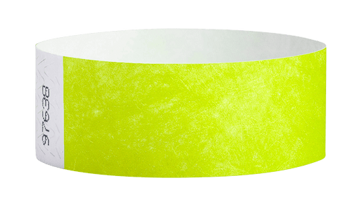 Lime Green tyvek Wristband