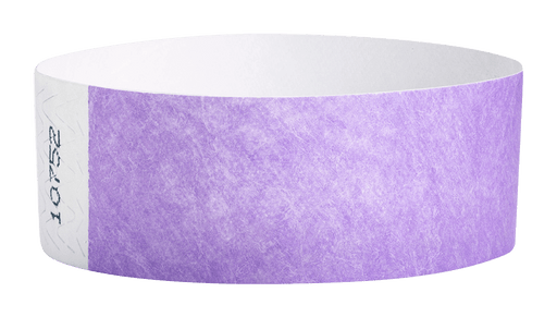 Berry Tyvek Solid Wristbands