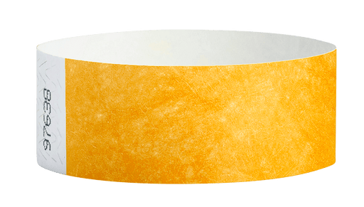 Goldenrod Tyvek Solid Wristbands