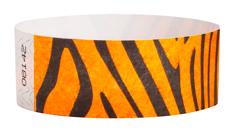 "Tiger Stripe Tyvek 1"" Wristband"