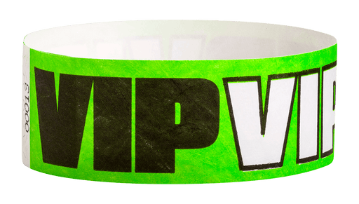 "VIP Tyvek 1"" Wristbands - Backstage Supplies"