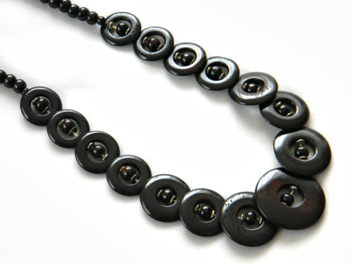 Circular Disc Tribal Necklace - Bay & Harbour