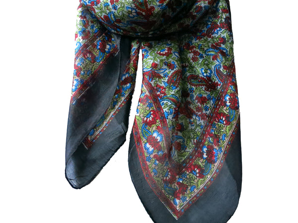Garden Silk Scarf - Bay & Harbour