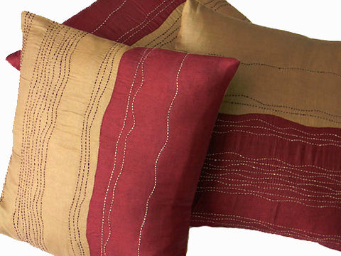Tanka - Pure Silk Cushion Cover - Bay & Harbour