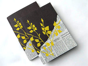 Recycled Newspaper Journal - Bay & Harbour