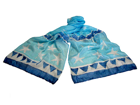 Stars & Sky Scarf - Bay & Harbour