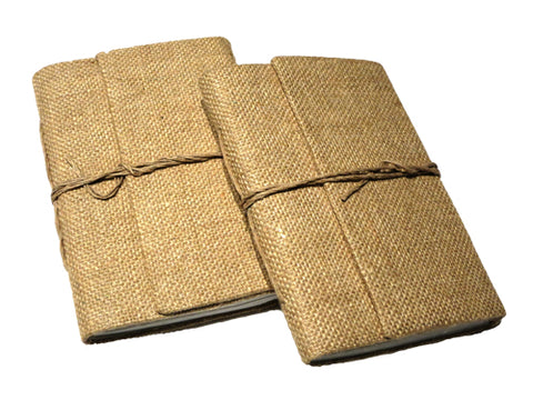 Jute Eco-Friendly Journal - Bay & Harbour