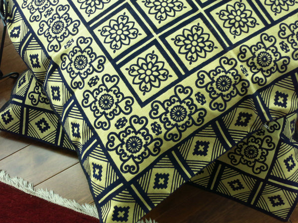 Indigo - Block Printed Floor Cushion Covers
