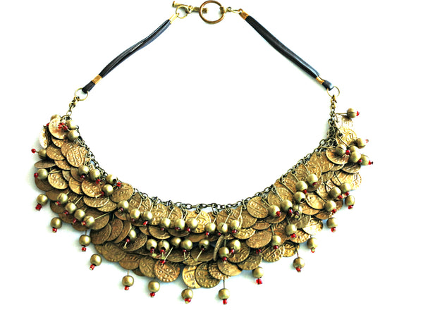 Indian Tribal Statement Necklace - Bay & Harbour