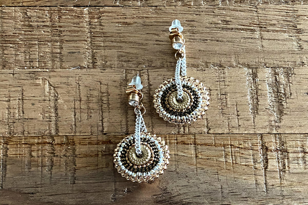 Beaded Drop Earrings - Bay & Harbour