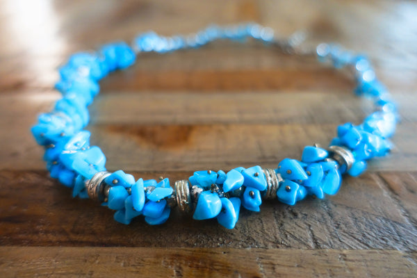 Turquoise Stone Necklace - Bay & Harbour