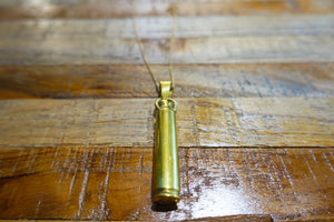 Recycled Bullet Pendant - Bay & Harbour