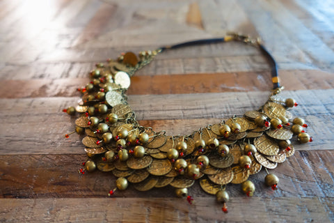 Indian Tribal Statement Necklace