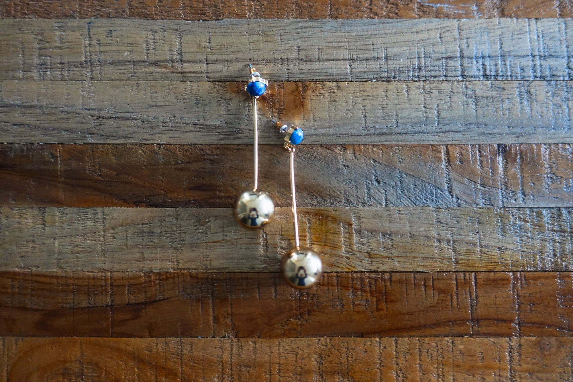Lapis Lazuli Drop Earrings - Bay & Harbour