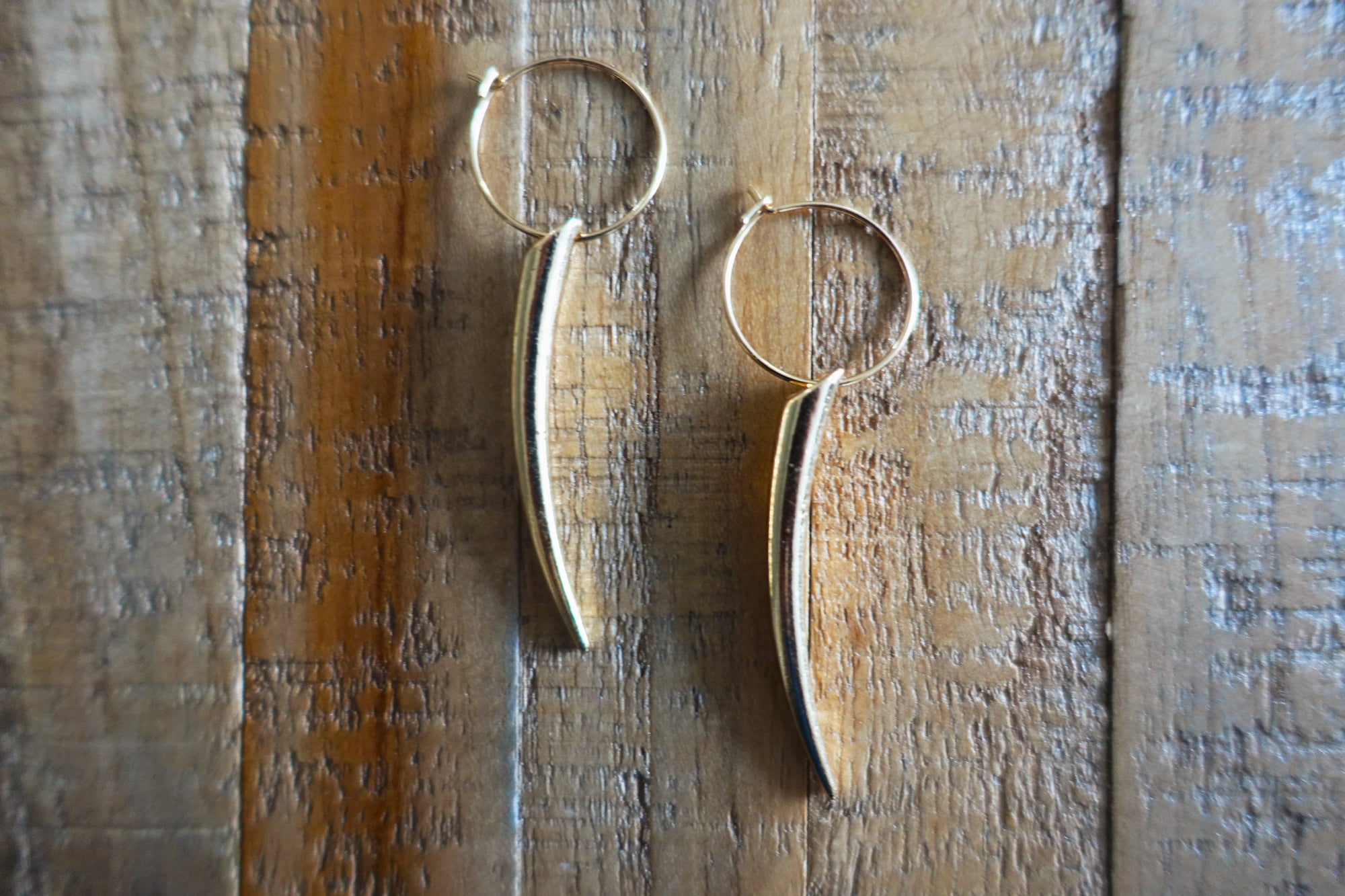 Rocket Gold-finish Earrings - Bay & Harbour