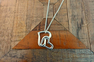 Sterling Silver Heart Necklace - Bay & Harbour