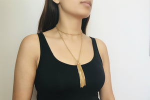 Wrap Chain Necklace