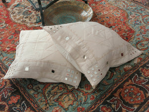 Au Natural - Hand-Crafted Cushion Cover - Bay & Harbour
