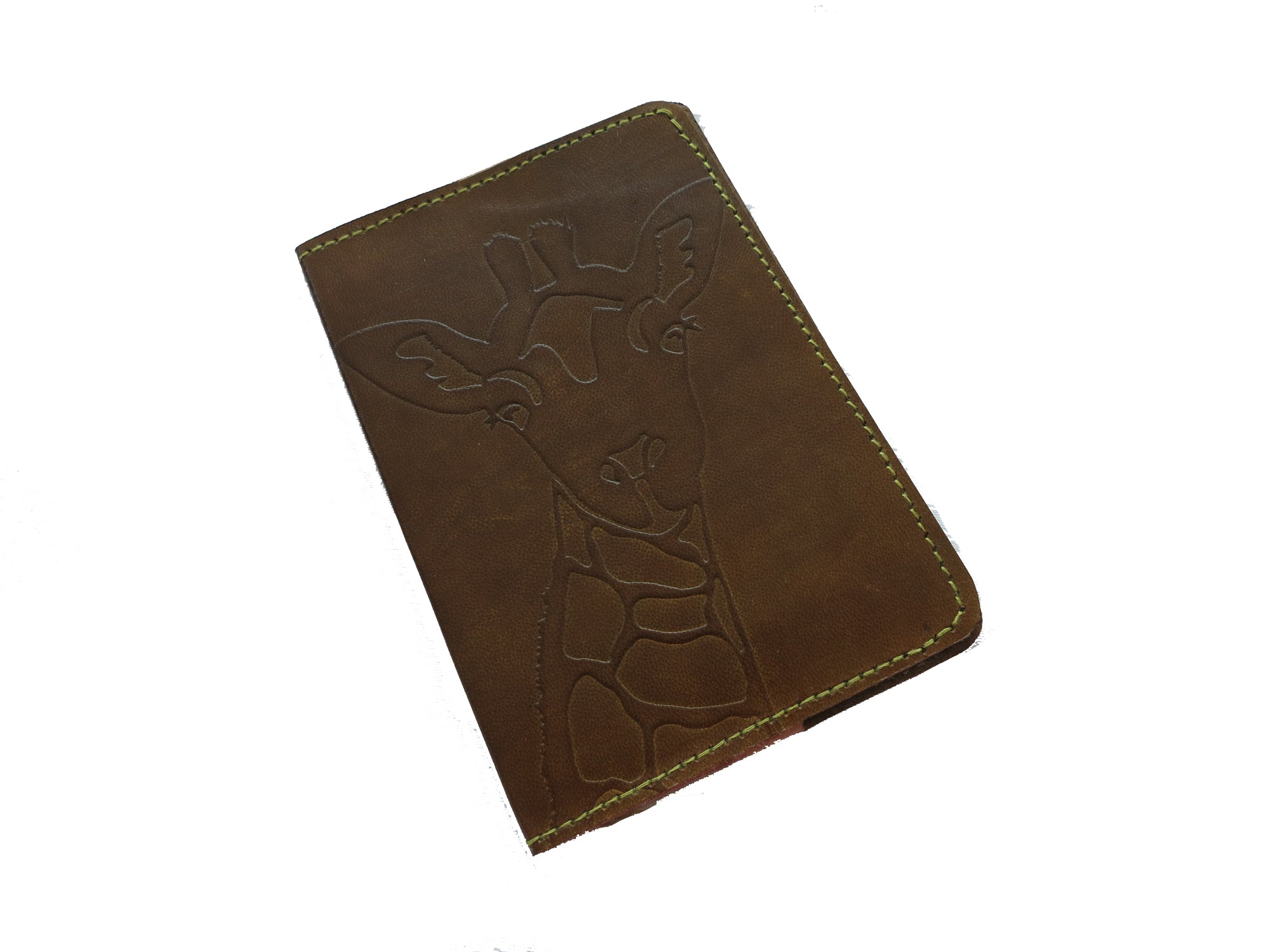 Cruelty-Free Leather Passport Covers - Brown