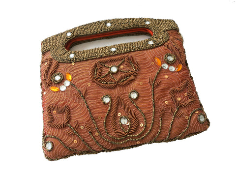 Zardozi Embroidered Clutch - Bay & Harbour