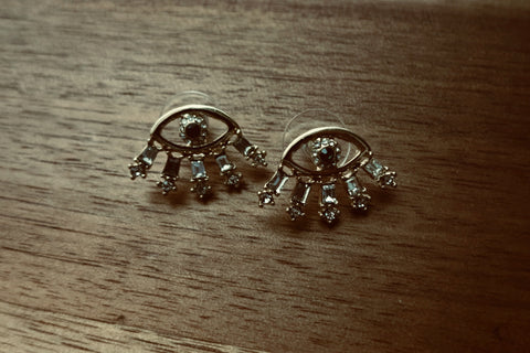 Evil Eye Stud Earrings - Bay & Harbour