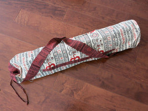 Sanskrit Hand-Printed Yoga Bag - Bay & Harbour
