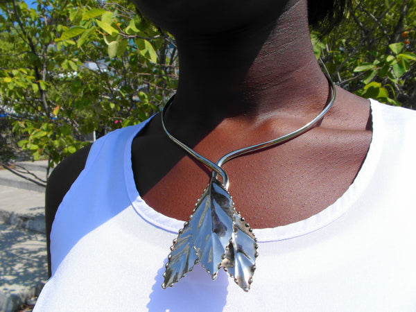 Leafy Choker Necklace - Bay & Harbour