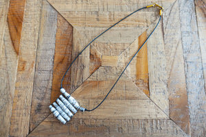 Recycled Newspaper Pendant Necklace - Bay & Harbour