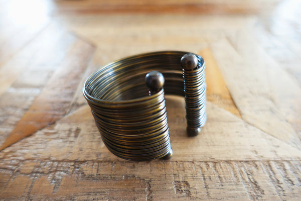 Copper Gladiator Cuff