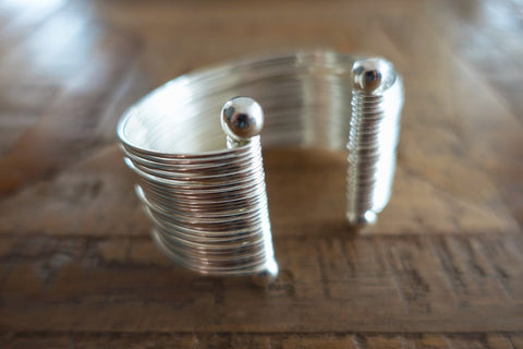 Silver Gladiator Cuff - Bay & Harbour