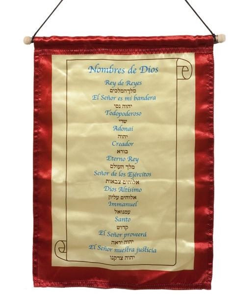 Banner: Spanish Names Of God
