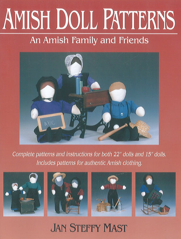 Amish Doll Patterns: An Amish Family and Friends