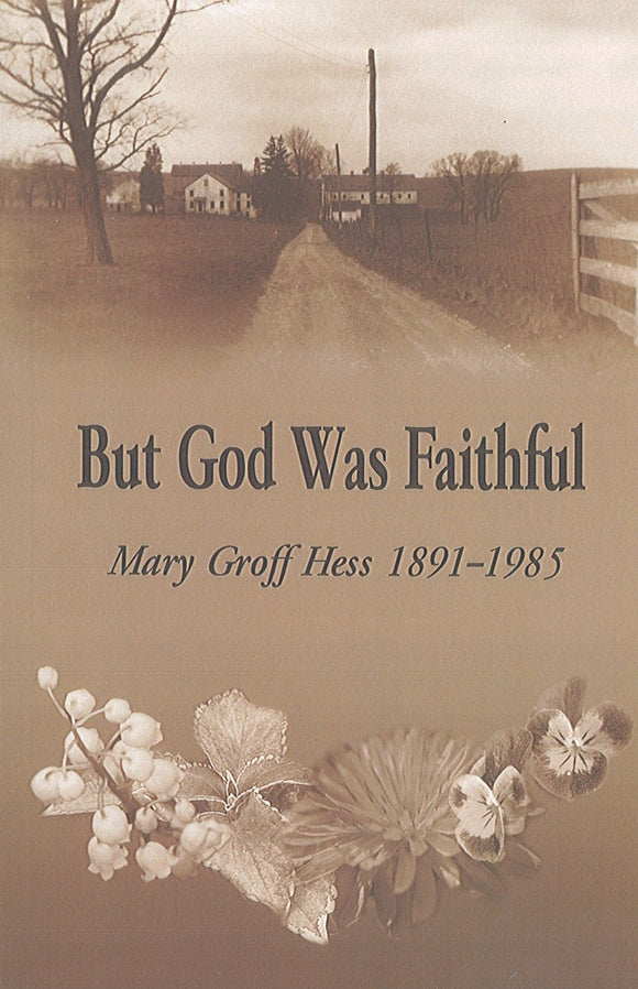 But God Was Faithful: Mary Groff Hess, 1891-1985