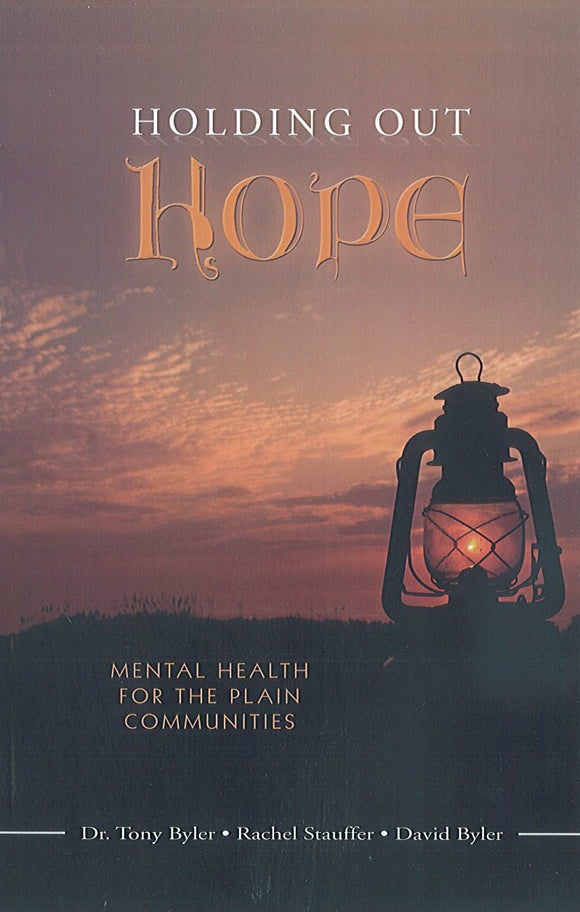 Holding Out Hope: Mental Health for the Plain Communities
