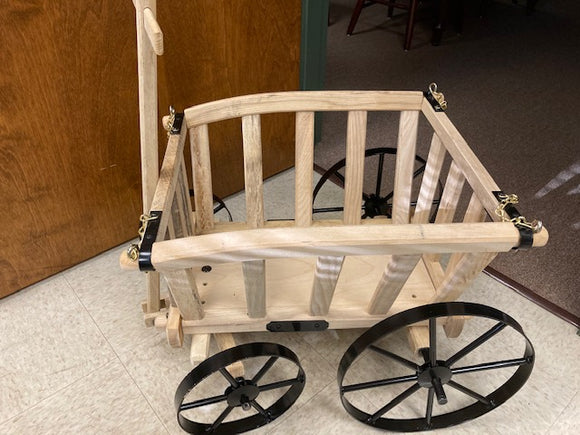 Wooden Wheelbarrow & Cart