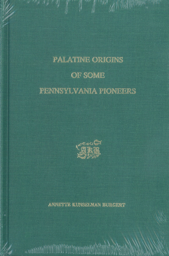 Palatine Origins of Some Pennsylvania Pioneers